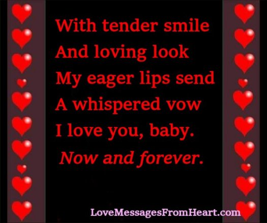 U i sms luv Romantic love
