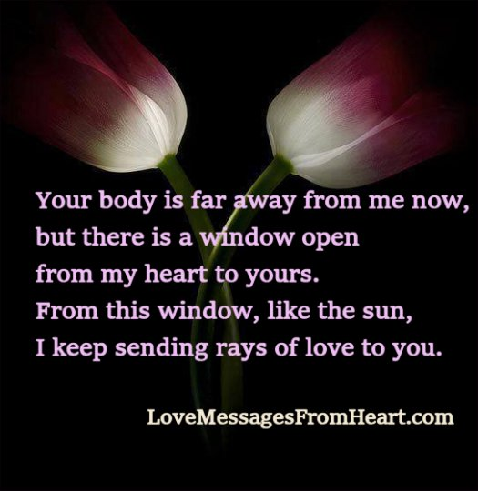 window in heart