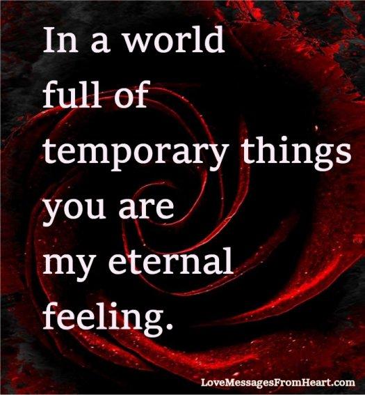 eternal feeling