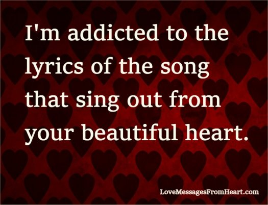 Lyrics of the song from your heart
