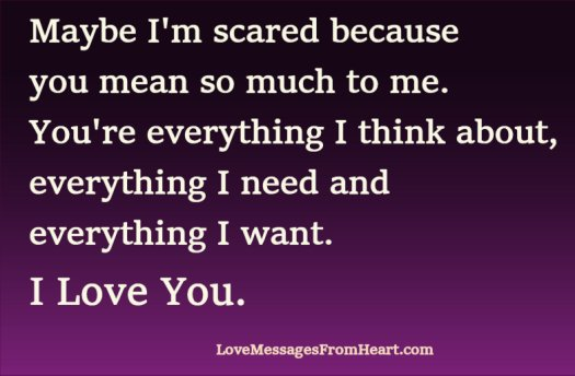 You Mean So Much To Me Quotes | Love Meaning Message Love Messages From The Heart