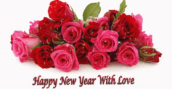 Happy New Year with love