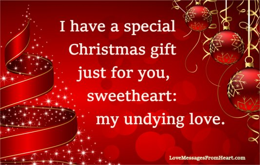 Christmas Love Messages From The Heart | Love Messages From The Heart