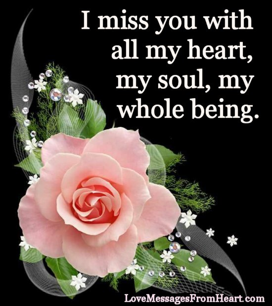 I Miss You Messages I Miss You Quotes And Sayings Love Messages