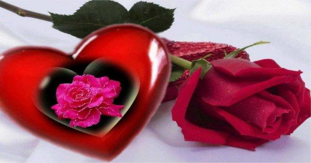 Be romantic and happy