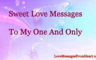 Sweet love messages